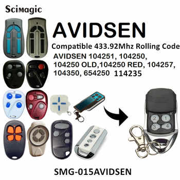 AVIDSEN garage door remote control 433mhz rolling code handheld transmitter AVIDSEN garage command key fob - DISCOUNT ITEM  40% OFF All Category