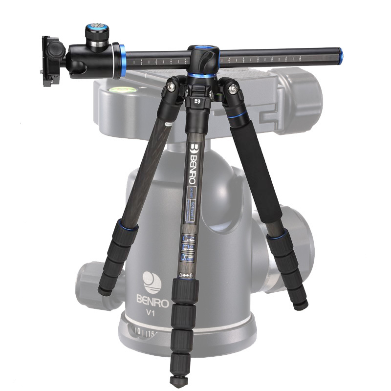 DHL Free Shipping Benro GC169TV1 Carbon Fiber Tripod Monopod For Camera V1 Tripod Head 5 Section Carrying Bag Max Loading 12kg