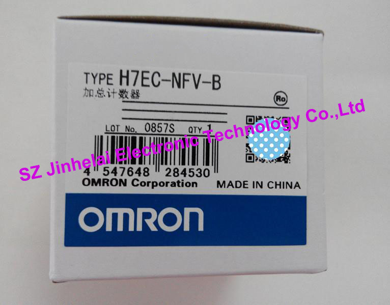 100%Authentic original H7EC-NFV-B, H7EC-NFV OMRON Time relay,TIME COUNTER [zob] supply of new original omron electronic counter h7ec nv voltage output 2pcs lot relay
