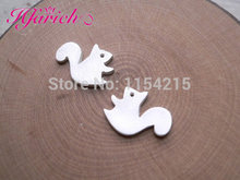 Hot Fashion Paragraph Earrings Forest Squirrel Earring silver animal jewelry EY-E072