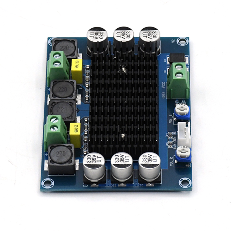 Image 4 - TDA7498 2.0 Digital Power Amplifier Board 100W*2 Dual channel Stereo Audio class d amplifier for speaker DC12 32V-in Amplifier from Consumer Electronics