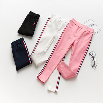 2019 printemps filles leggings pour enfants pantalons enfants pantalons pour enfants leggings nouveau coton filles pantalons 3-9 ans