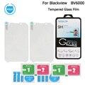 Blackview bv6000s original vidro temperado filme scratch-proof película protetora de aço para blackview bv6000 telefone móvel