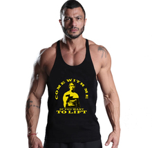 2017 Men Tank Top Arnold gyms o-neck brand clothing Bodybuilding men Muscle Stringer Singlet Fitness Workout men gyms tank t