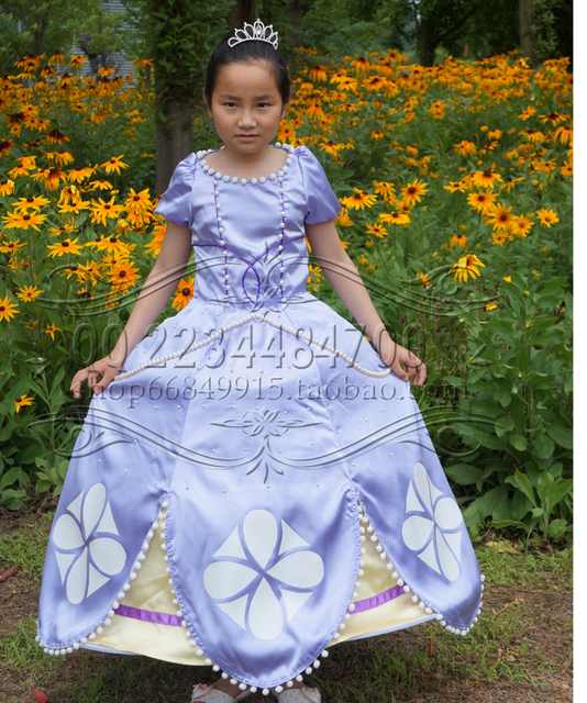Sofia Princess Dress Kids Cosplay Costumes Girls New Arrival: Aliexpress.com : Buy Free Shipping New Adult Clothing