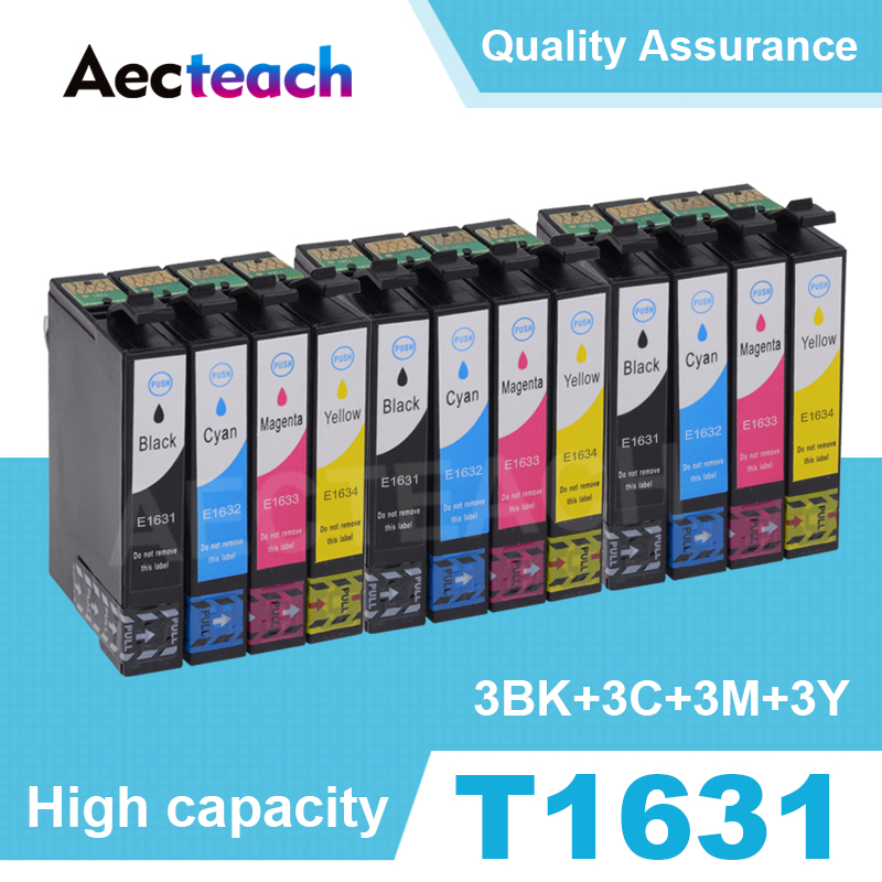 T1631 Full Ink Cartridge For Epson 16XL T1621 WorkForce WF2010 WF2510 WF2520 WF2530 WF2540 WF2630 WF2650 WF2660 Printer