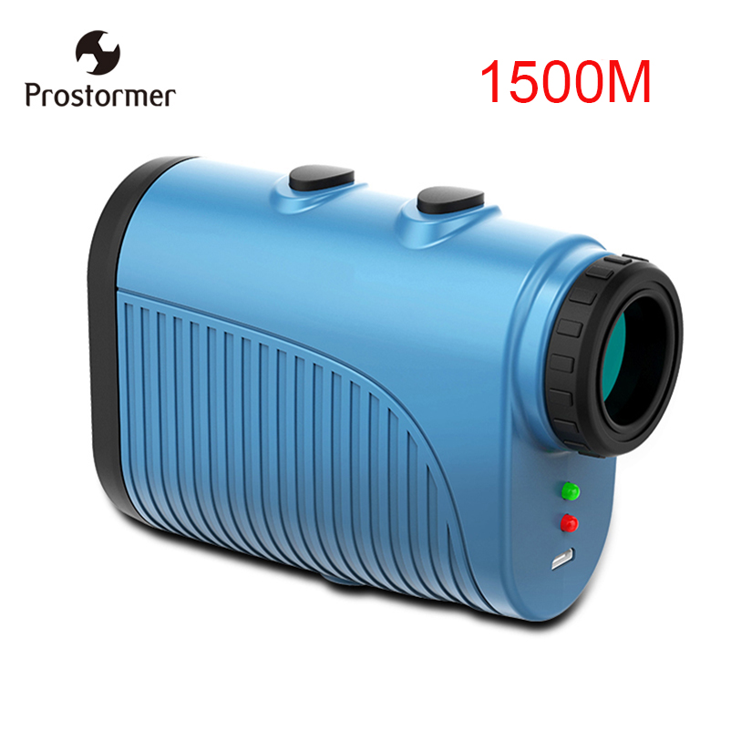 Prostormer 1500m Telescope Laser RangefinderHandheld mini New Multifunction Clarity Monocular Golf Hunting Range Finder