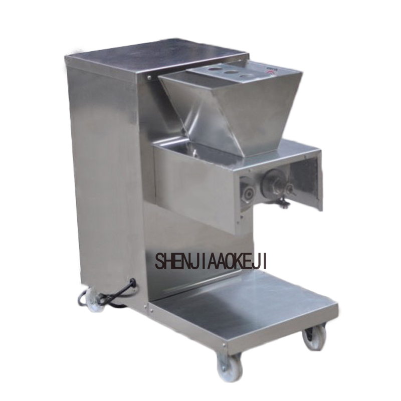 GY-QR-180High-grade Stainless Steel Electric Meat Slicer Machine 110/220V 750W  Electric Meat Cutting Vegetable Dish Machine 1pc