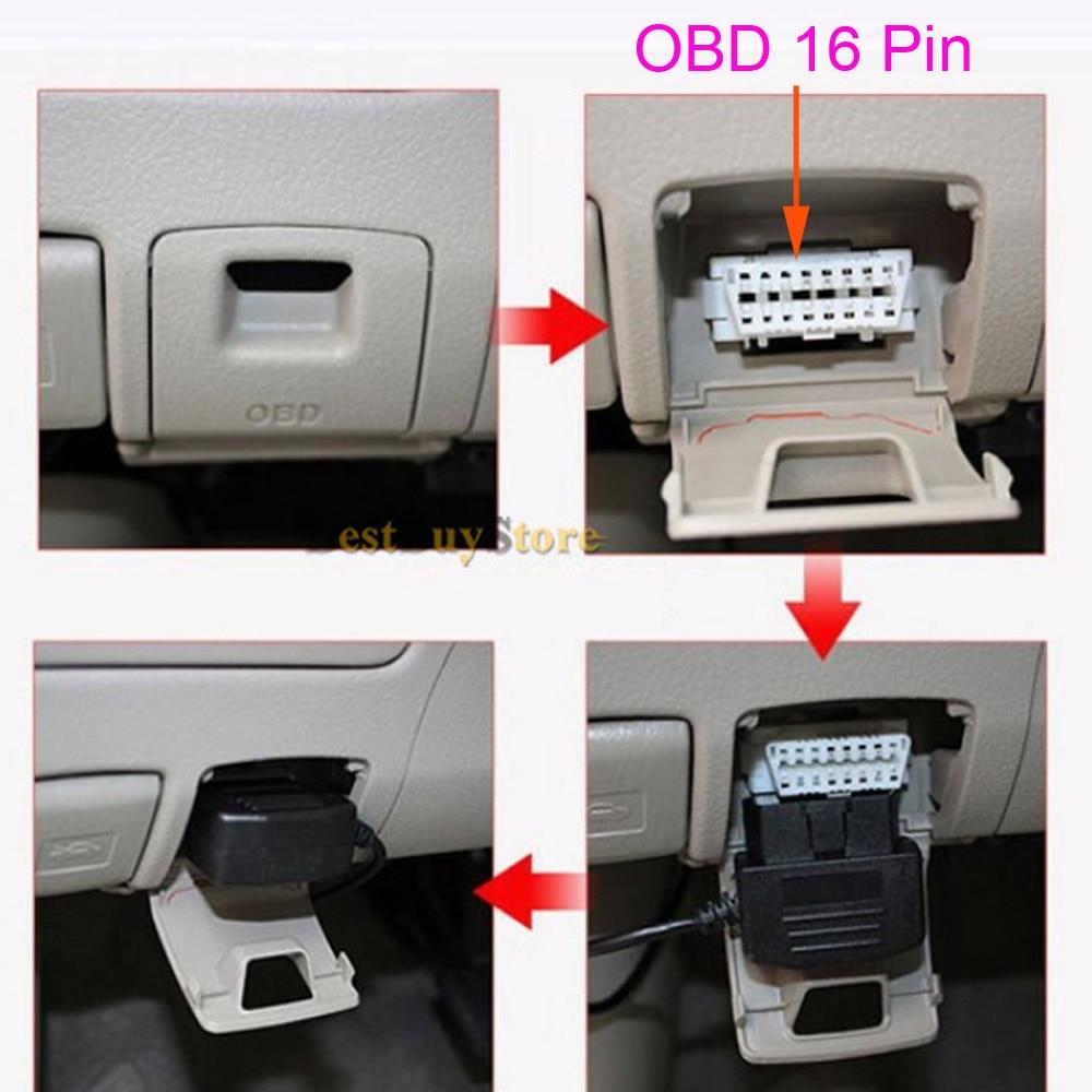 XCGaoon Avtomobil Adapteri OBD 16 Pin DC Dəyişdirici Modulu 12V - Avtomobil elektronikası - Fotoqrafiya 3