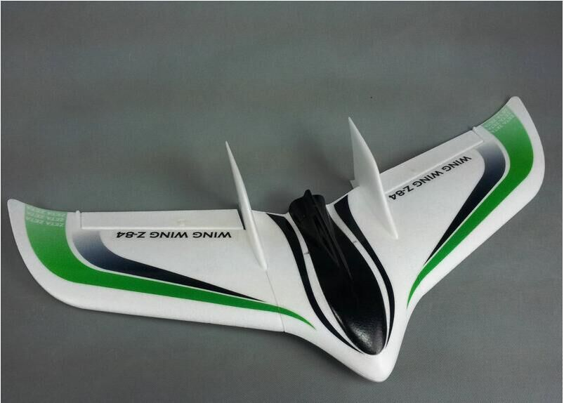 Flying Wing Z-84 Z84 EPO 845mm Wingspan Flying Wing Rc Airplane/ Fixed Wing Aircraft (Without Blue)
