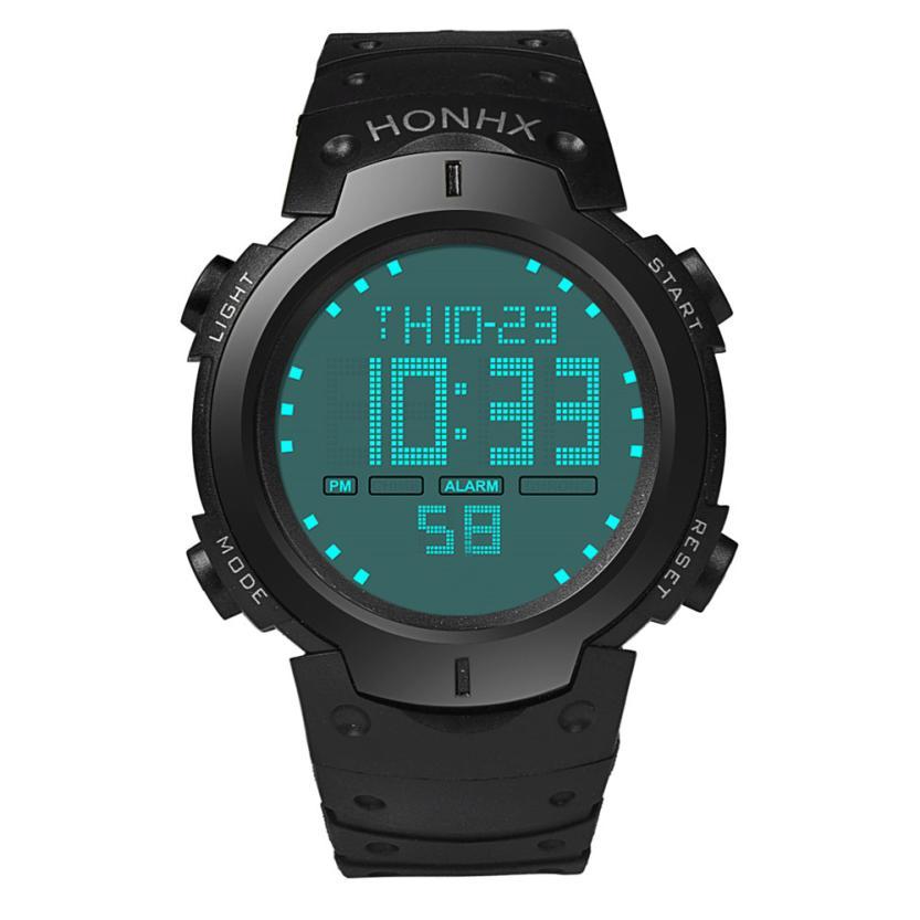 Men Sport Watch Relogio Masculino Waterproof Silicone quartz-watch Clock Male Military Casual Sports Men's Watches