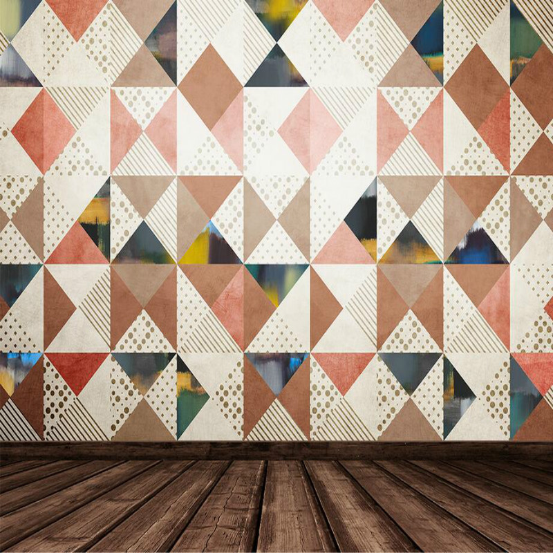 Modern Geometric Pattern Diamond 3D Wallpaper for Walls 3d Abstract Decorative Painting Wall Murals Wallpaper geometric metallic wallpaper 3d abstract