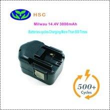 Аккумуляторная батарея HSC Mil14.4A 3.0AH, совместимая с аккумулятором Milwau 48-11-1000,48-11-1014,48-11-1024,9083-22