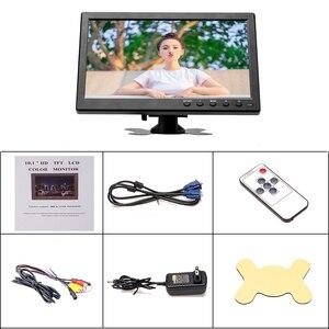 """Image 5 - Podofo 10.1 """"LCD HD & Máy Tính Màn Hình Màn Hình Màu 2 Đầu Vào Video An Ninh Giám Sát BNC / AVI / VGA / HDMI"""