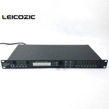 Leicozic 4in/8out 4.8SP Профессиональный цифровой процессор управление динамиком pro аудио процессор protea pro сценическое аудио оборудование