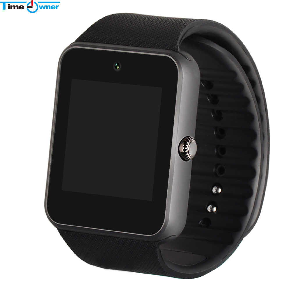 Montre intelligente Bluetooth montre intelligente GT08 horloge appareils portables montre-bracelet pour Xiaomi Samsung S3 HTC Sony Android Smartwatch