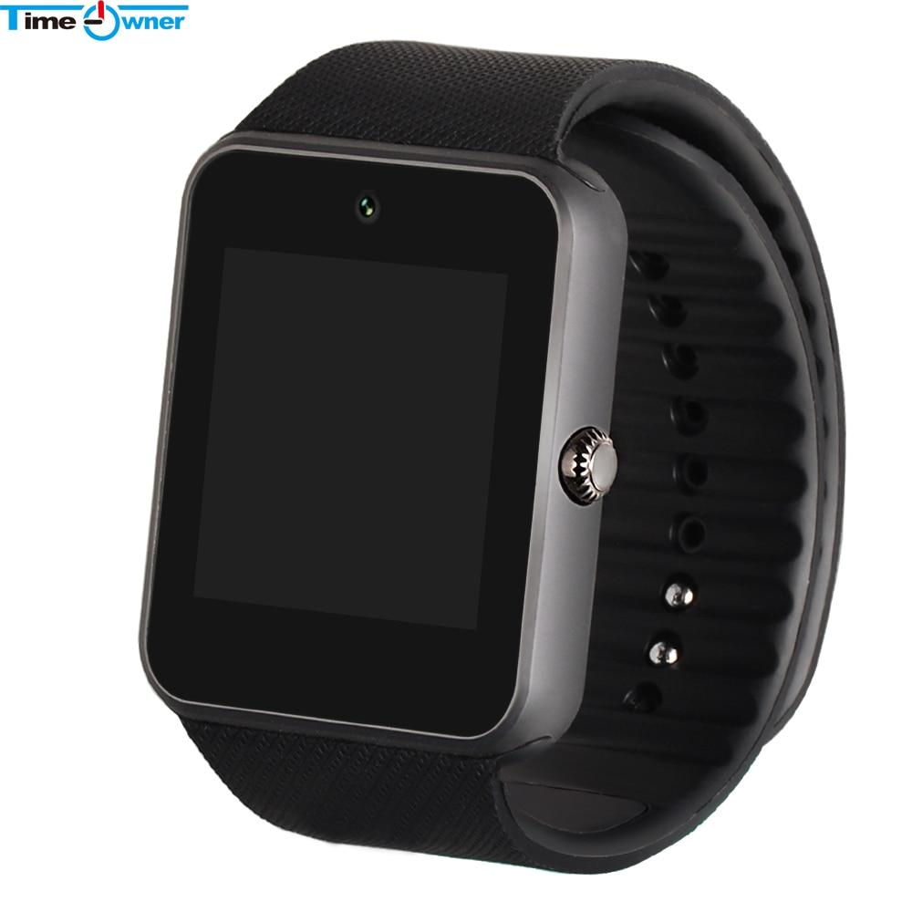 imágenes para Reloj del bluetooth de smart watch gt08 timeowner usable dispositivos reloj para xiaomi samsung s3 htc sony android smartwatch