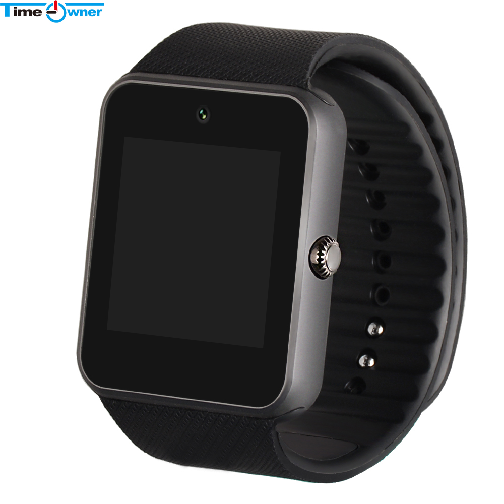 timeowner bluetooth smart watch gt08 clock wearable devices wristwatch for xiaomi samsung s3 htc. Black Bedroom Furniture Sets. Home Design Ideas