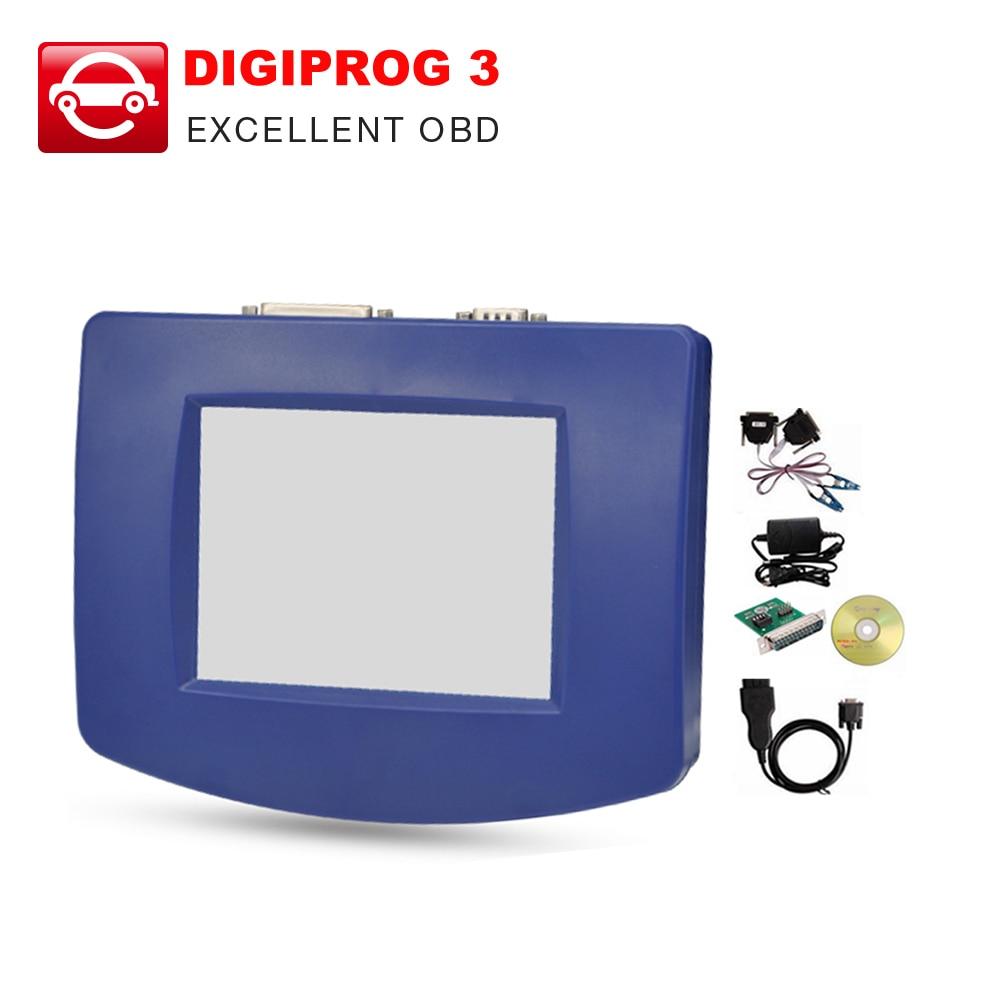 Prix pour DHL Digiprog3 gratuit unité principale V4.94 avec ST01, ST04 câble, chargeur Logiciel Complet Programmeur D'odomètre Digiprog III Digiprog 3