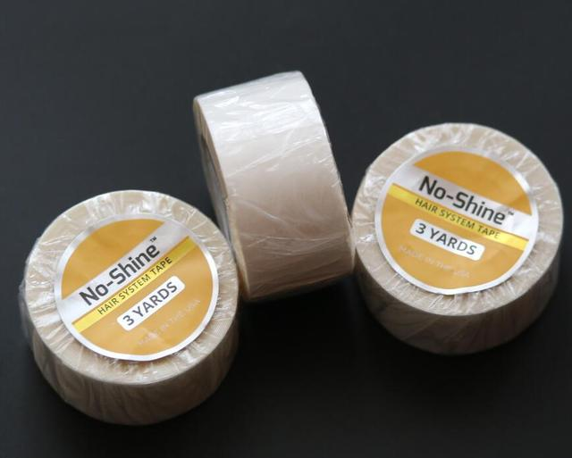 """Wholesale No-shine hair tape 3 yard for touppes and wigs 2.54cmx3yards  (1""""x3Yards)"""
