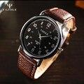 Relogio masculino 2016 reloj de cuarzo de los hombres de primeras marcas de lujo famoso reloj masculino reloj relog yazole panske erkek hodinky kol saati