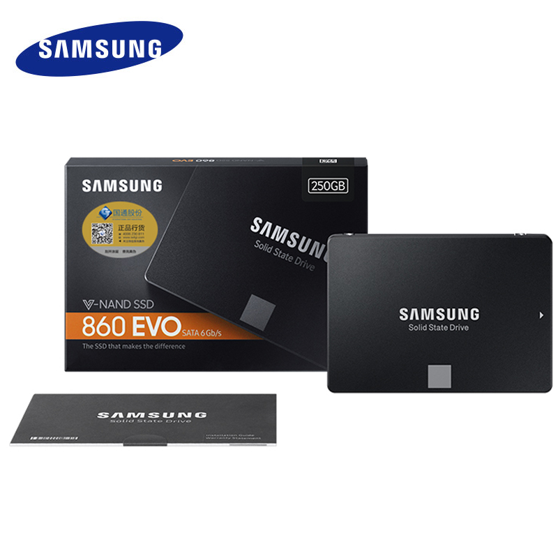 SAMSUNG SSD 860 EVO 250GB 500GB Internal Solid State Disk HD Hard Drive SATA3 2.5 for Laptop Desktop PC 250 GB 500 GB MZ-76E250B ...