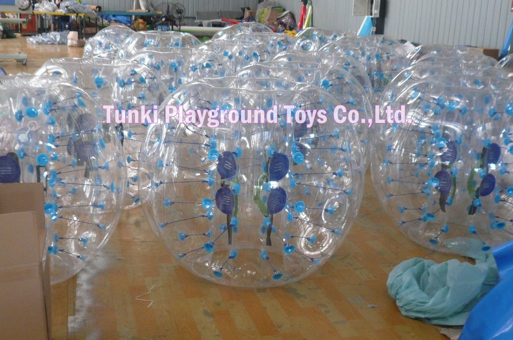 1.2m diameter safe inflatable bubble soccer for kids
