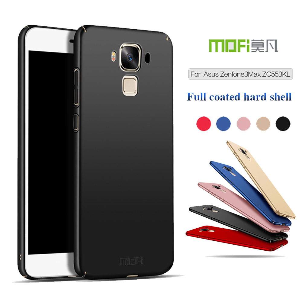 MOFI 360 Full Protective Ultra thin Slim Matte Hard Back Cover for Asus ZenFone 3 Max ZC553KL (5.5inch) Phone Fundas Capas Shell