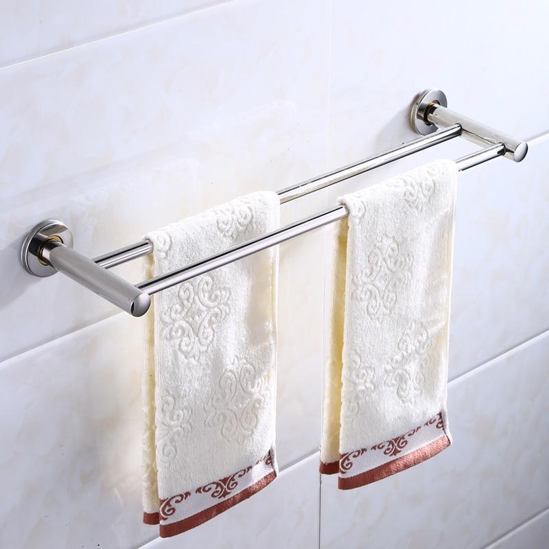 Hohe qualität Edelstahl Handtuch rack Bad regal Handtuch aufhänger waschlappen lagerung rack bad Zubehör Hardware