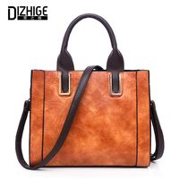 Women Shoulder Bag High Quality PU Leather Bags Ladies Handbag Solid Female Crossbody Messenger Bag Casual