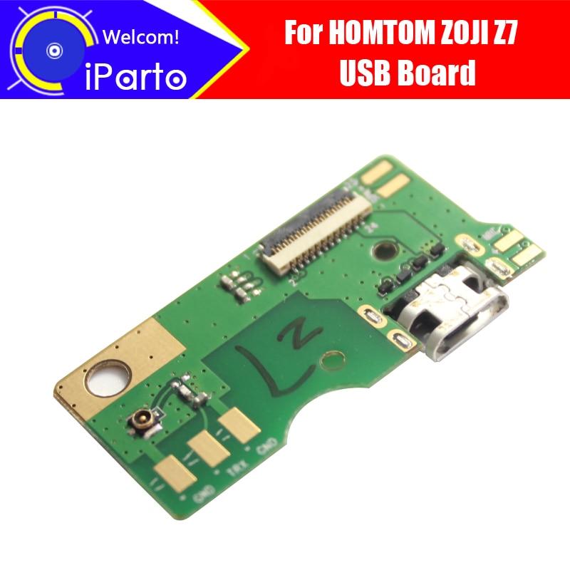 5.0 pouces HOMTOM ZOJI Z7 usb conseil 100% Original Nouveau pour usb carte de charge de prise Accessoires de Remplacement pour ZOJI Z7 téléphone