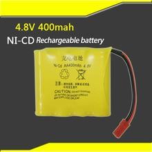 4.8 В ni-cd aa400mah Ni-Cd аккумуляторная батарея комплект дистанционного управления игрушечных автомобилей, Ni-Cd аккумулятора