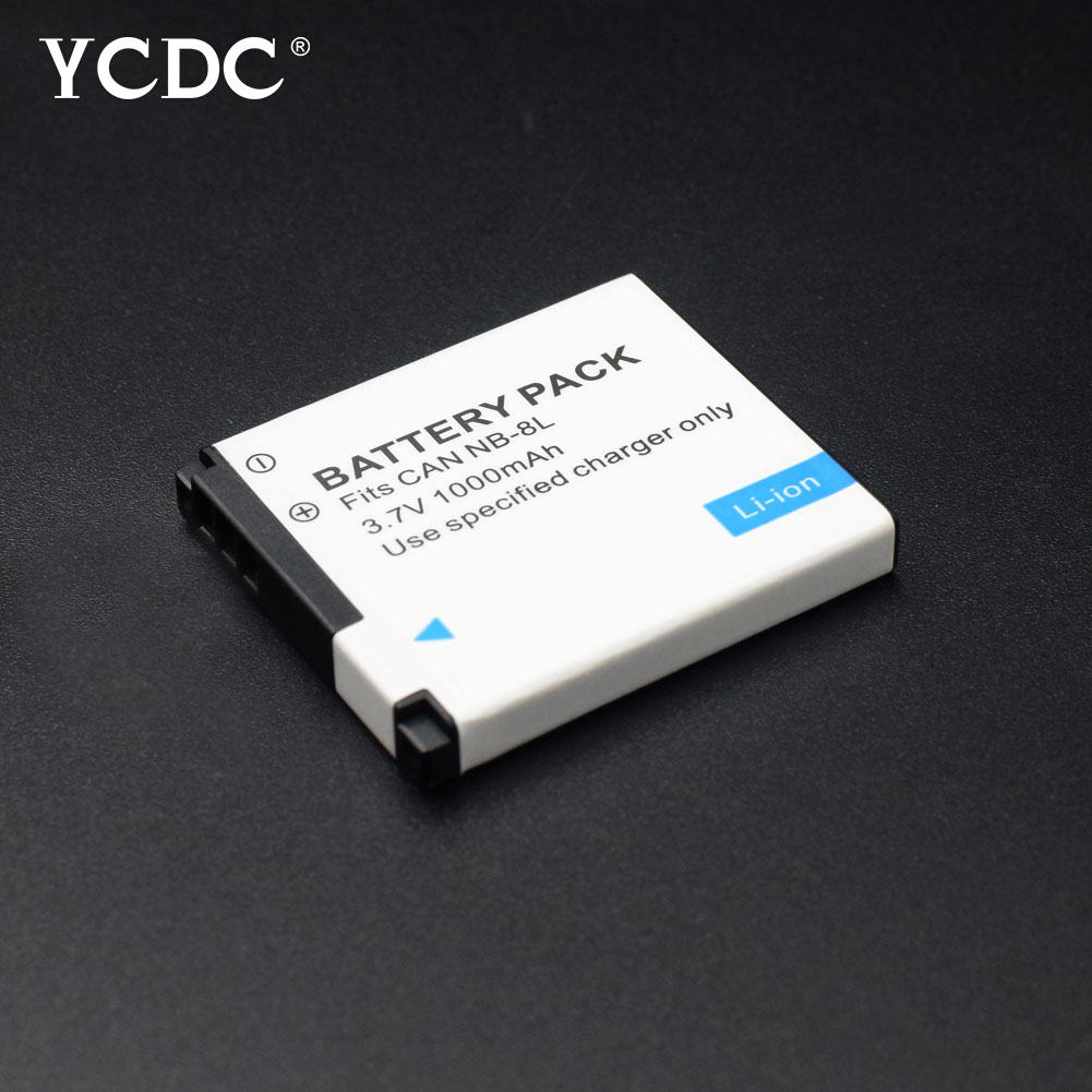 3.7V 1000mAh 1pcs NB-8L NB 8L NB8L Rechargeable Camera Battery For Canon Powershot A3100 A3200 A3300 IS A2200 IS A3000 IS A1200