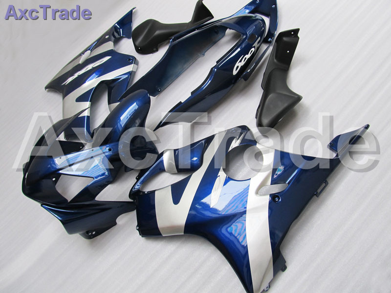 Blue Moto Fairing Kit For Honda CBR600RR CBR600 CBR 600 F4i 2004-2007 04 05 06 07 Fairings Custom Made Motorcycle Injection Mold gray moto fairing kit for honda cbr600rr cbr600 cbr 600 f4i 2001 2003 01 02 03 fairings custom made motorcycle injection molding