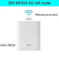 unlocked 4g wifi router Zmi MF855 7800MAH mifi 3G 4G lte router 4G Wireless Wifi Router Mobile Power Bank 7800mAh pk e589 e5776