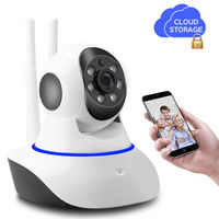 SDETER Wireless IP Camera 720P Pan Tilt HD CCTV Surveillance WIFI Camera P2P Cloud Storage Network
