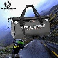 Full Waterproof 50L Motorcycle Tail Bag For Harley Style Motorbike travel bag Back Seat Bags Large capacity Sport Luggage Pack