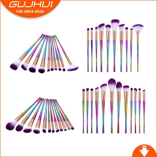 10/12 a Small Waist Makeup Brush Set Brush Set Beauty Makeup Brush Tool Sector GUJHUI delivering quality service a pharmaceuticals sector s perspective