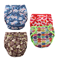 JinoBaby Great Baby Diapers Training Pants Cloth Diaper Nappy Washable Diapers Bamboo Charcoal Inserts for 4KG-15KG