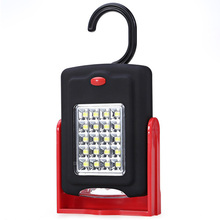 Portable 23 LED Work Light Lamp Flashlights Torches Lanterna with Magnet & Standing Rotating Hanging Hook for outdoors sports