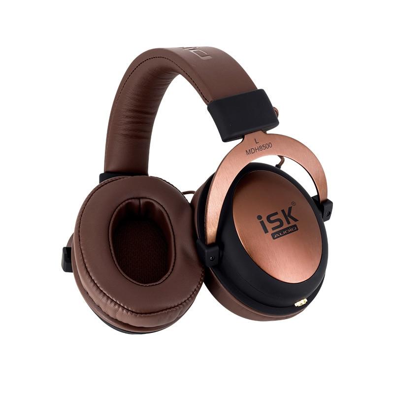 ISK MDH8500 Genuine Headphone HIFI Stereo Fully Enclosed Dynamic Earphone Professional Studio Monitor Headphones Hifi DJ Headset