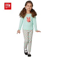 2016 Children Clothing Sets Baby Girls Pajamas Suits Kids Sleepwear Suit Tops Pants 2pcs Outfits Girls