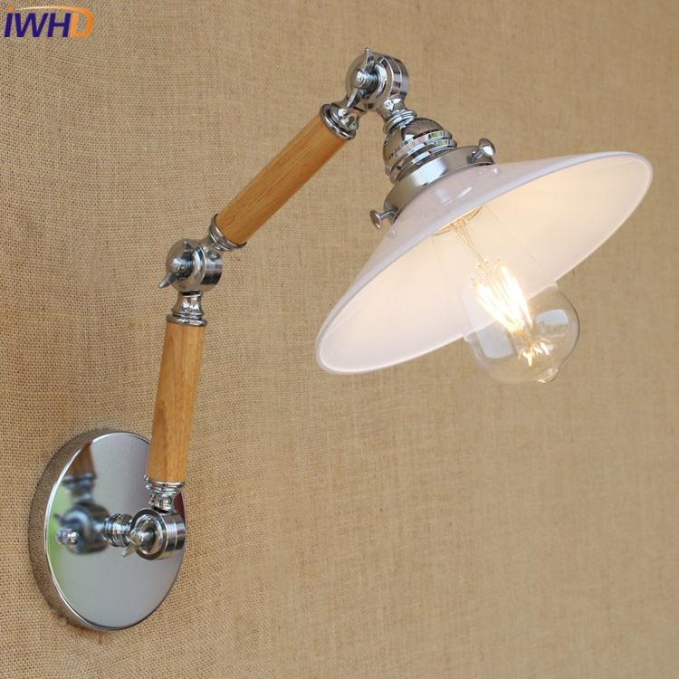 IWHD éclairage Escaliers Mur Applique Vintage Loft Industriel Mur