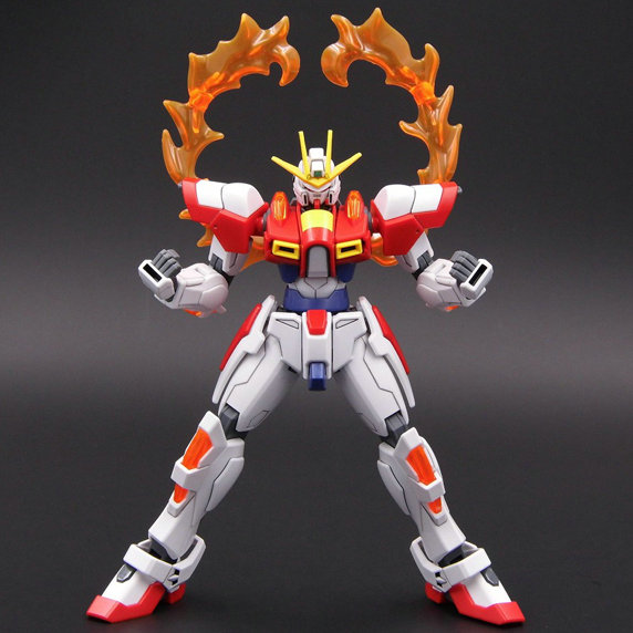 HOBBY Japanese anime figures Gundam HG 1/144 STAR BUILD BURNING Assembled model action figure ...