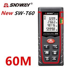 Image 5 - SNDWAY laser rangefinder distance meter 120M 100M 80M 60M 40M laser tape range finder build measure digital ruler trena roulette