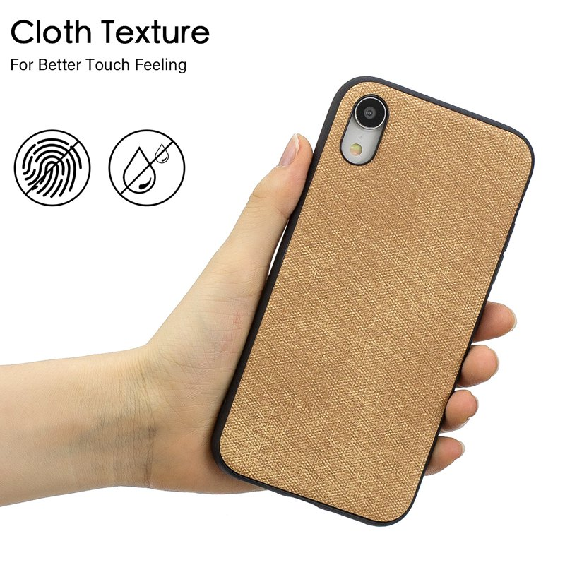 Jeans Texture Series Soft TPU Cases For Apple iPhone 6 6S 7 8 X XS XR XS Max 6Plus 6SPlus 7Plus 8Plus Case Ultra thin Back Cover in Half wrapped Cases from Cellphones Telecommunications