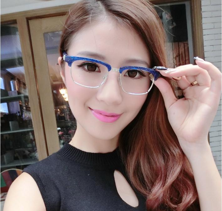 popular eyeglasses frames  Aliexpress.com : Buy Semi rimless Glasses Frames Classic Popular ...