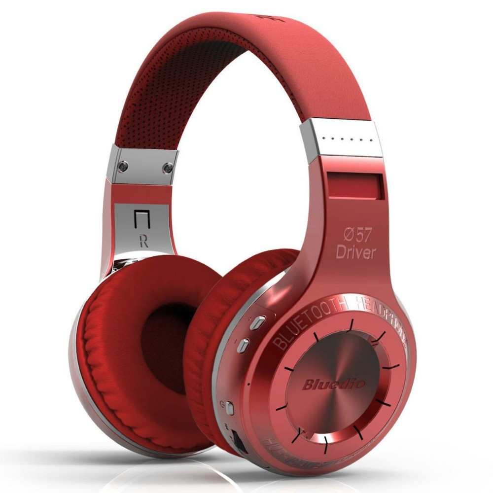 ФОТО Bludio Bluedio H+ Headset Bluetooth 4.1 Stereo HIFI Wireless Headphones Earphones For For Calls Music with Mic FM TF Card slot