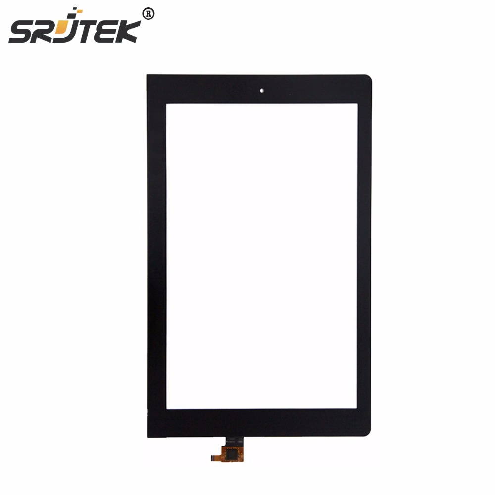 Srjtek New 10.1'' inch Touch Screen Panel Digitizer For Lenovo Yoga 10 B8080 with Digitizer glass Replacement Free shipping remax 2 in1 mini bluetooth 4 0 headphones usb car charger dock wireless car headset bluetooth earphone for iphone 7 6s android