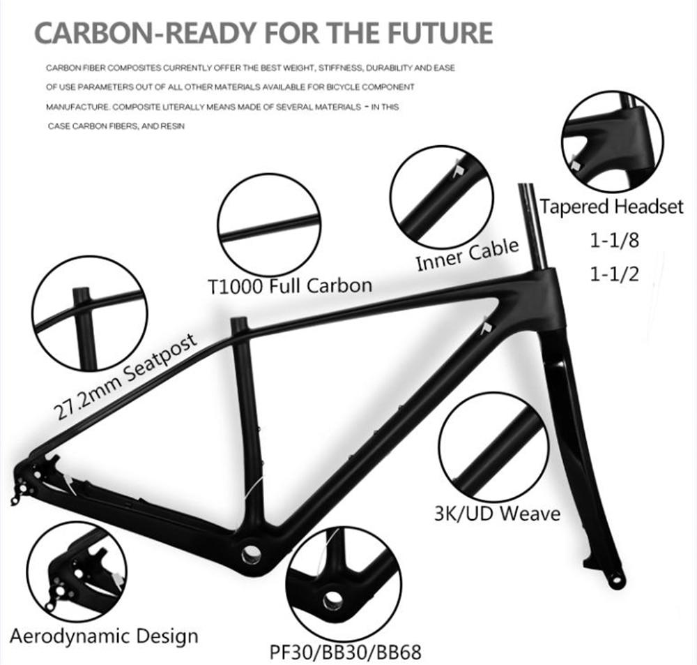 Good sale!carbon road bike frame Di2 carbon road frame customized ...